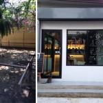Review : ต่อเติมพื้นที่สวนหน้าบ้าน ให้เป็นร้านกาแฟเล็กๆ ดีไซน์น่ารักบรรยากาศน่านั่ง