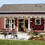 แบบบ้านสตูดิโอคอทเทจ ดีไซน์เล็กกะทัดรัด เหมาะเป็นแบบร้านกาแฟหรือเรือนพักผ่อนในสวน