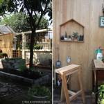 DIY : ไอเดียแต่งสวน ด้วยมุมทำงานแบบสตูดิโอ ความสบายง่ายๆ ในสวนหลังบ้าน