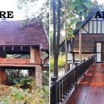 Renovate : เปลี่ยนบ้านร้างผีสิงในป่า ให้กลายเป็นบ้านอยู่อาศัยในสไตล์วิคตอเรียน