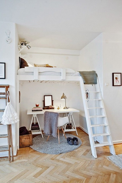 homes loft Ideas for decorating  (4)