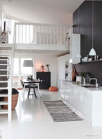 homes loft Ideas for decorating  (5)