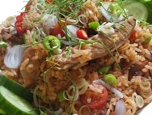 mackerel fried rice recipe  (1)