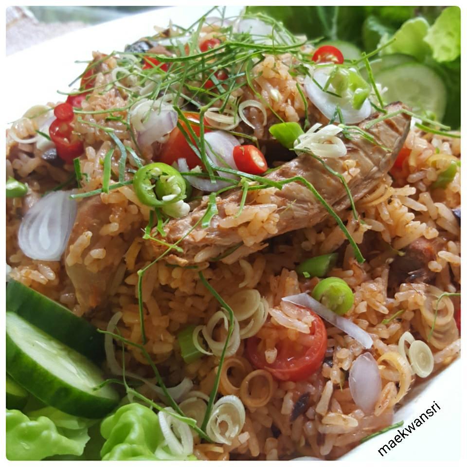 mackerel fried rice recipe (2)