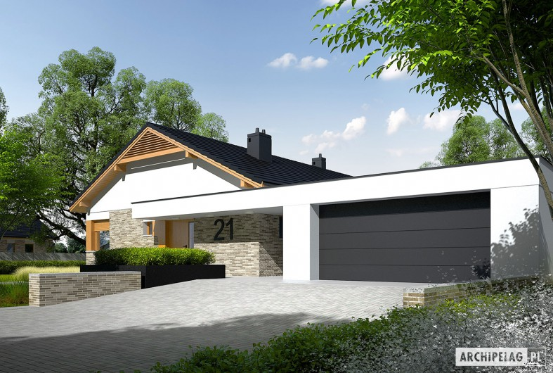 modern gable grey  house (3)