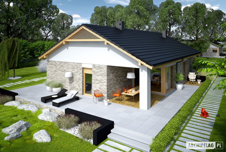 modern gable grey  house (4)