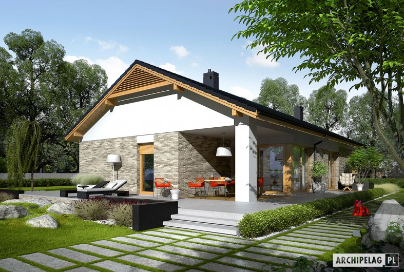 modern gable grey  house (5)
