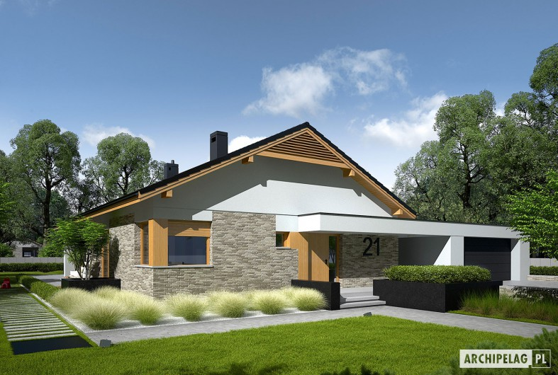 modern gable grey  house (7)