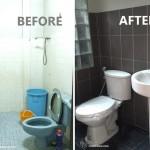 Review : เปลี่ยนห้องน้ำแคบๆ เก่าๆ ให้ดูเท่ในสไตล์โมเดิร์น น่าใช้งานมาก