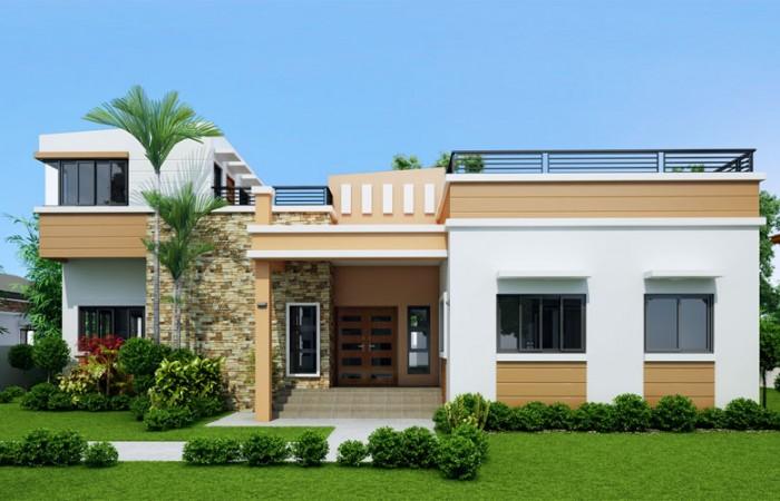 modern rooftop floor house (1)