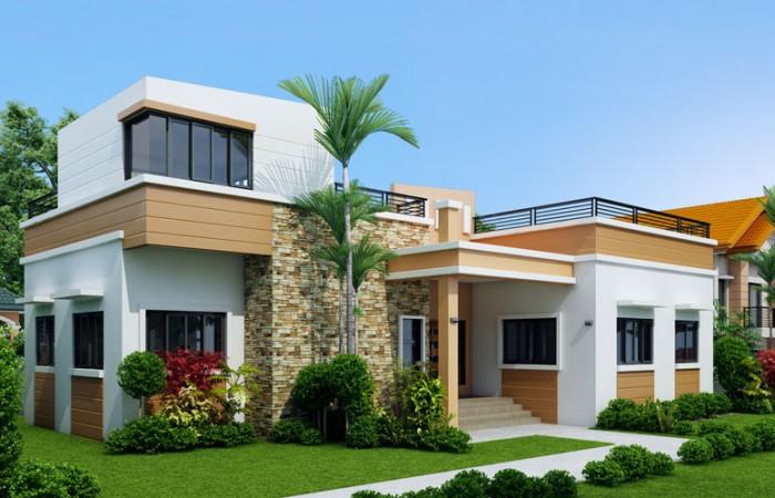 modern rooftop floor house (2)