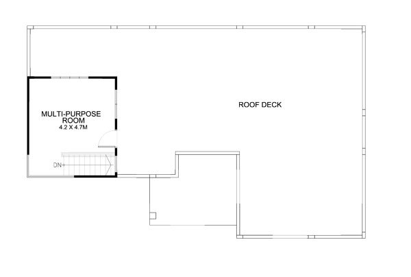 modern rooftop floor house (5)
