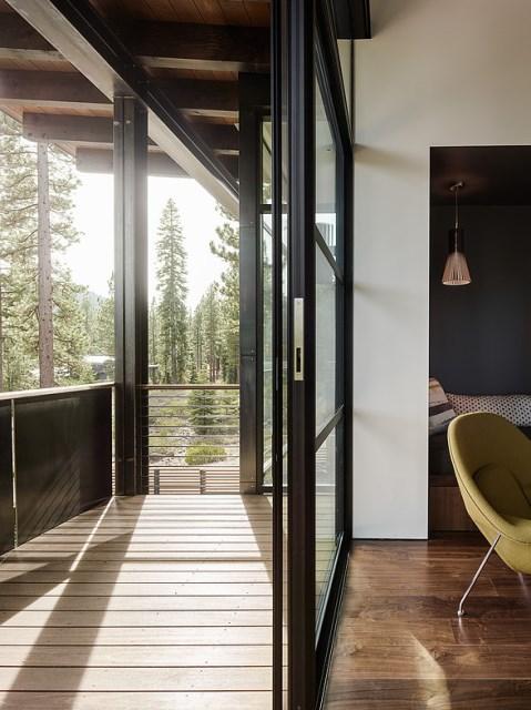 modern villa house Materials of cement steel glass (10)