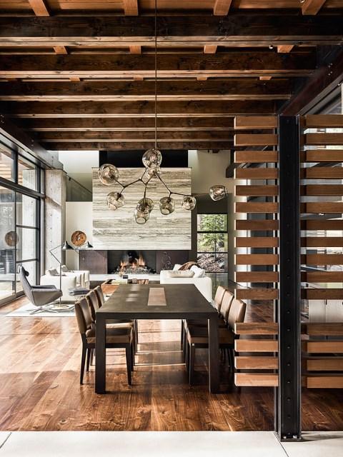 modern villa house Materials of cement steel glass (12)