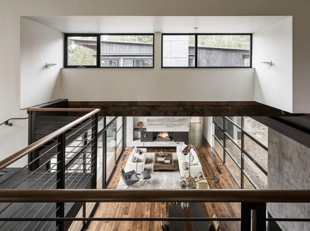 modern villa house Materials of cement steel glass (5)