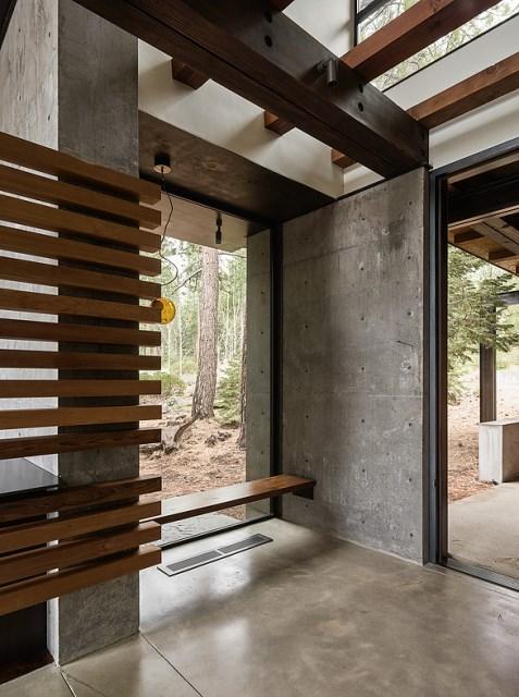 modern villa house Materials of cement steel glass (6)