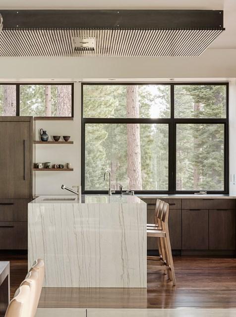 modern villa house Materials of cement steel glass (8)