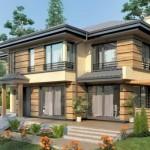 บ้านโมเดิร์นทรงปั้นหยา ออกแบบทันสมัยเข้ากับธรรมชาติ เหมาะเป็นบ้านพักตากอากาศ