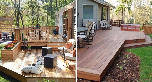 patio deck ideas cover