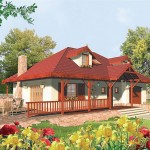 แบบบ้านแนวคันทรี่ ดีไซน์น่ารักบรรยากาศอบอุ่น เหมาะสร้างในต่างจังหวัด