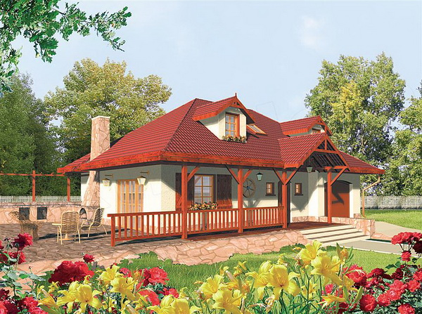 red roof country house (1)