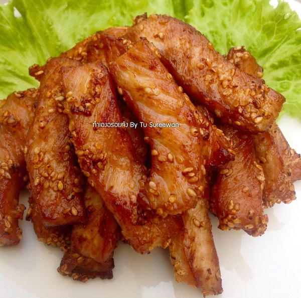sesame fried pork recipe (7)