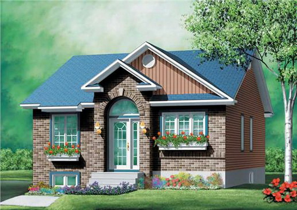 small brick cottage house (1)