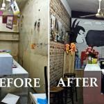 Review : รีโนเวทแผงลอยเก่าสภาพทรุดโทรม ให้กลายเป็นร้านกาแฟเล็กๆ สุดชิค