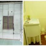 Review : เปลี่ยนห้องเก็บของเก่าโทรมๆ ให้กลายเป็นห้องน้ำสไตล์วินเทจ กะทัดรัดน่าใช้งาน