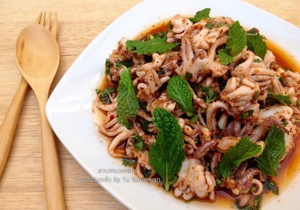 squid spicy salad recipe (1)