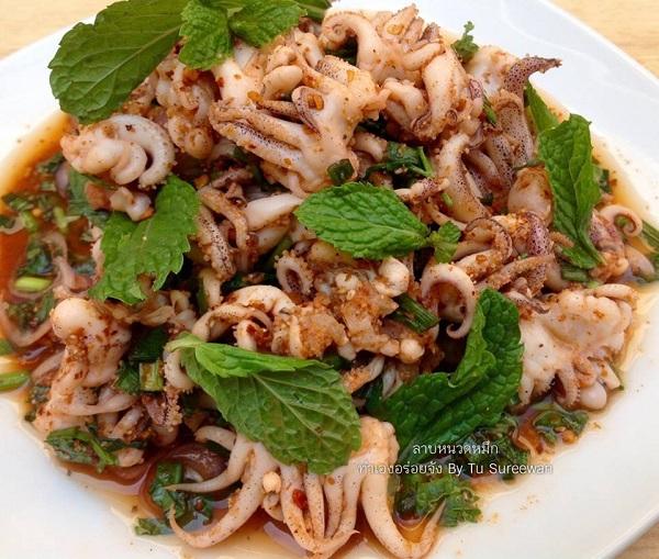 squid spicy salad recipe (6)