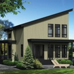 บ้านขนาดเล็กกะทัดรัด พร้อมชั้นลอย ในงบ 8 แสนบาท ตกแต่งแบบโมเดิร์นจากไม้และกระจก