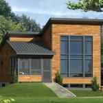 บ้านขนาดเล็กกะทัดรัด ในงบ 7 แสนบาท ตกแต่งแบบโมเดิร์นจากไม้และกระจก