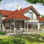 บ้านสองชั้นสไตล์ร่วมสมัย ตกแต่งไม้สร้างกลิ่นอายแบบบ้านวิคตอเรีย รองรับครอบครัวขนาดใหญ่