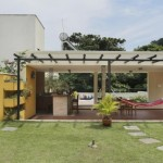 บ้านสองชั้นสไตล์โมเดิร์น มาพร้อมสวนหลังคา สร้างพื้นที่พักผ่อนสุดร่มรื่น
