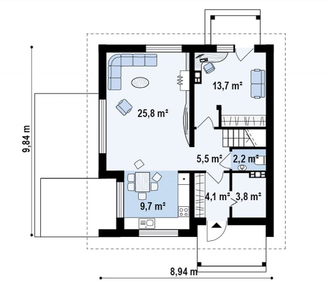 two-story house contemporary style (3)