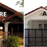 Review : รีโนเวทบ้านเก่า ให้กลายเป็นบ้านสีขาวอยู่สบาย