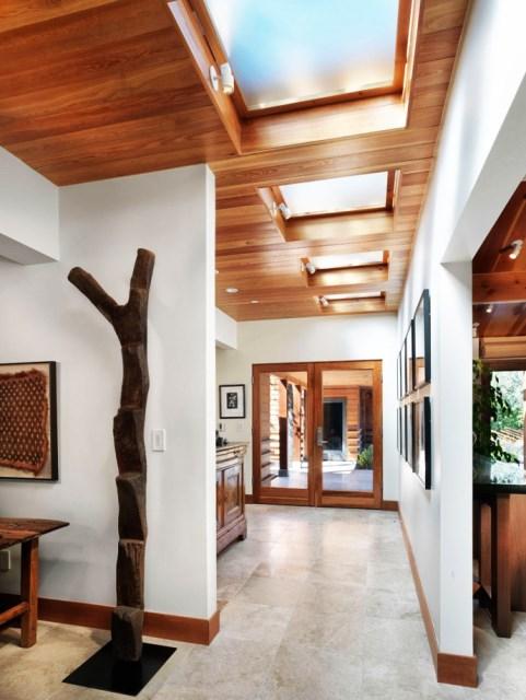 wooden Villa with pool hillside (2)