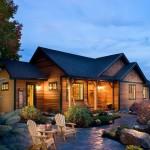 บ้านไม้สไตล์คันทรี ขนาดเล็กกะทัดรัด 3 ห้องนอน ในราคา 1 ล้านบาทต้นๆ