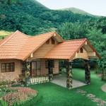 แบบบ้านชั้นเดียวกลางธรรมชาติ บรรยากาศร่มรื่น ดีไซน์เหมาะสำหรับบ้านสวน