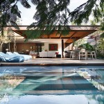 แบบบ้านสไตล์รีสอร์ท เพลิดเพลินไปกับพื้นที่พักผ่อนสุดสบาย มาพร้อมกับสระว่ายน้ำแสนสวย