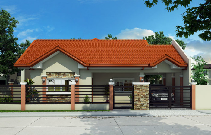 1 floor sandstone single house plan (1)