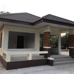 Review : สร้างบ้านในฝันราคาประหยัด ขนาดชั้นเดียว ในงบไม่เกิน 6 แสนบาท
