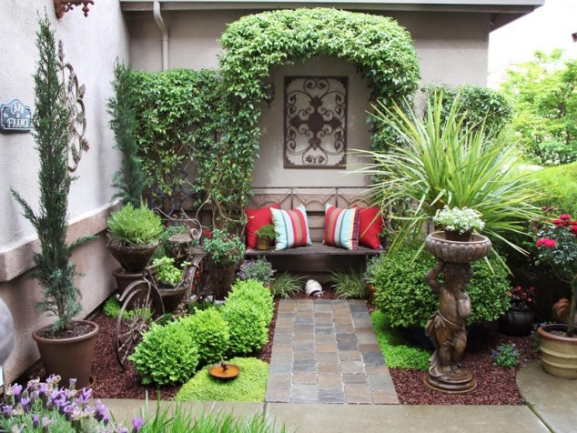 14 tiny garden decoration ideas (1)
