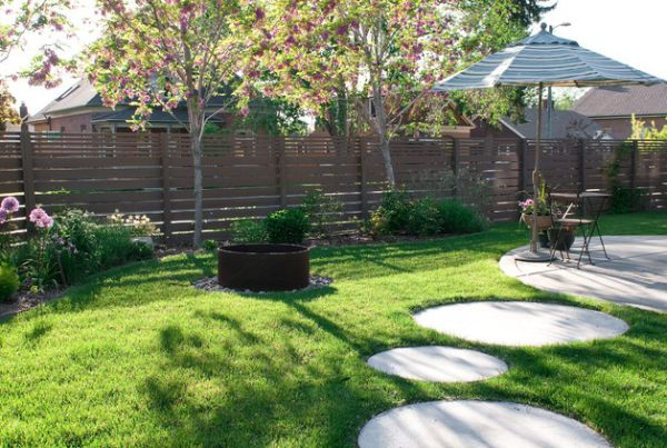 15 creative round stepping path ideas for garden (2)