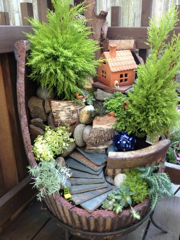 15 ideas for decorative garden with special details (4)
