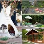 17 ไอเดียจัดสวนหลังบ้าน ให้เป็นสนามเด็กเล่น และสร้างมุมพักผ่อนให้กับครอบครัว