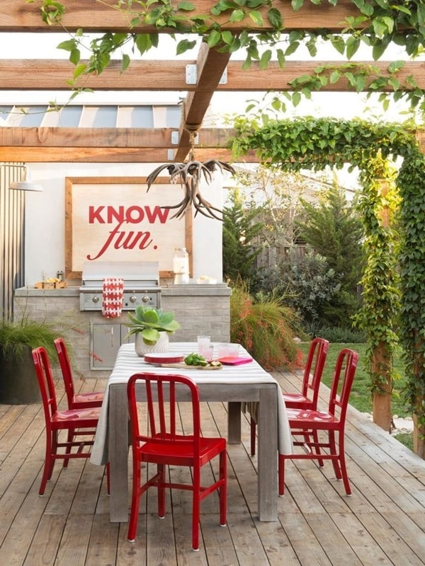 17 nice pergola terrace ideas (11)
