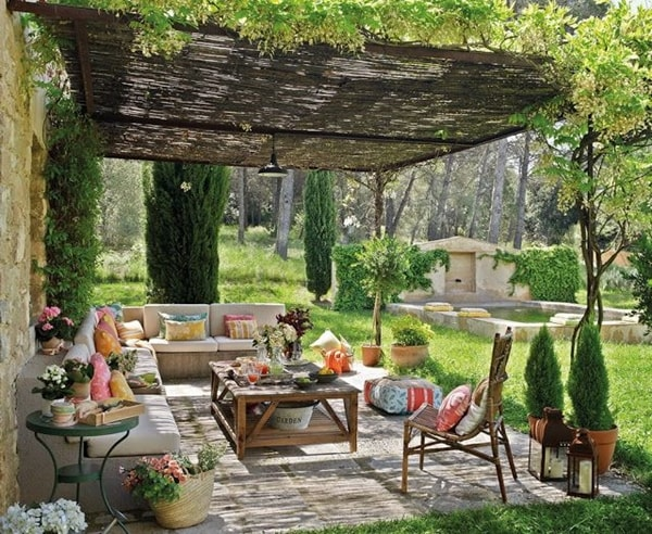 17 nice pergola terrace ideas (13)