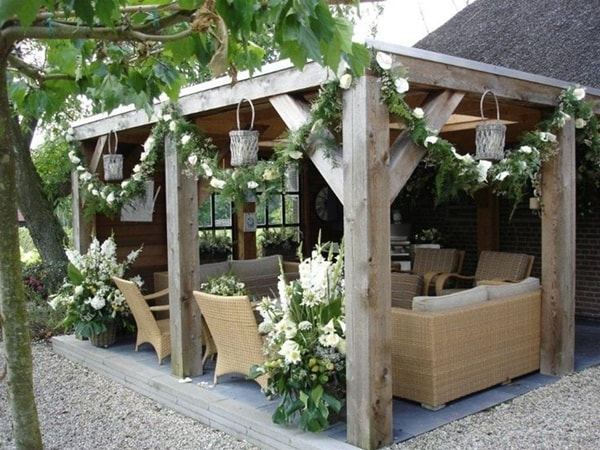 17 nice pergola terrace ideas (3)